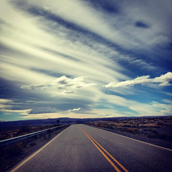 Instagram - wide open spaces and empty roads