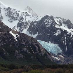 Glacier Piedras Brancas