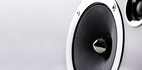 Speakers music sound loud