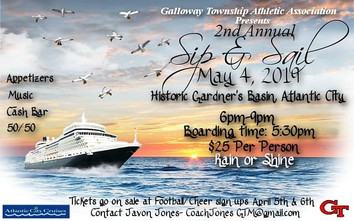 GTAA 2nd Annual Sip & Sail - May 4th, 2019