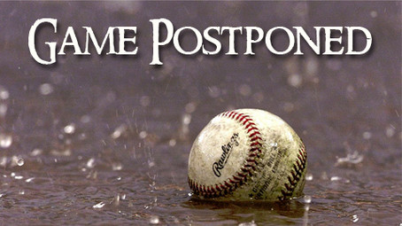 GTAA Baseball and Softball Games for today are postponed.