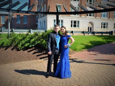 Nathan and Maddie Prom 2019
