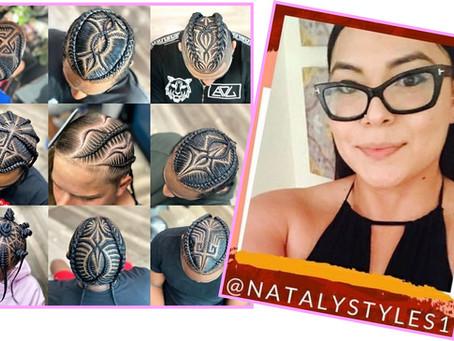 Professional Hair Braider, Natalia.