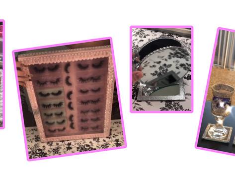 Fabulous DIY Glam Makeup Organizer Ideas.