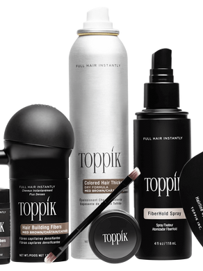 Get The Look of Fuller, Thicker Hair with These Toppik Products.