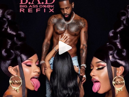 """Safaree releases a remix to Cardi B song """"WAP"""" called """"BAD""""."""