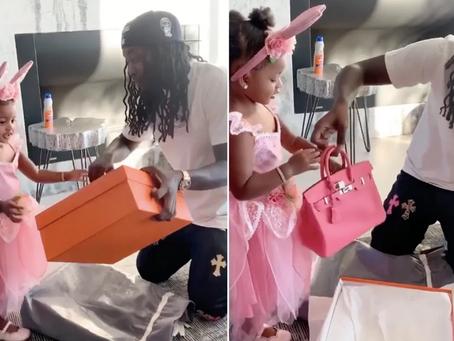 Cardi B's 2-year-old Daughter Kulture Gets a Birkin Bag.