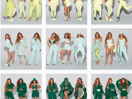 Beyoncé's Second Ivy Park x Adidas Apparel Collection.