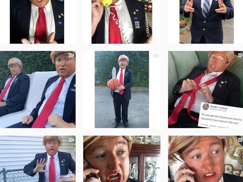 Need a Good Laugh? Meet Your New TikTok President! #Trump.