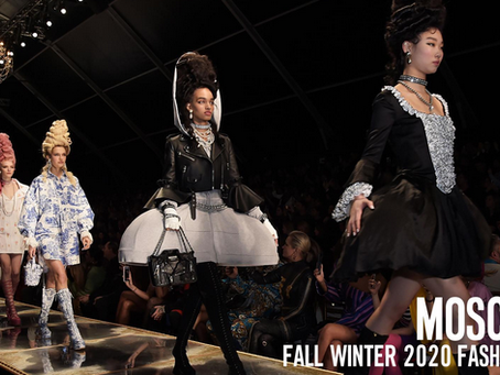 """""""A Fairy Tale Dream"""" - Moschino's 2020 Womenswear Collection!"""