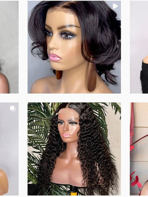 Premium Quality Wigs by Mirabel Hairs.