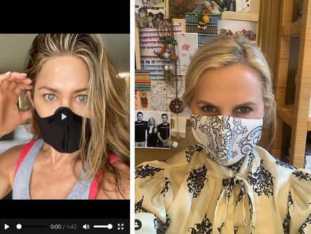 Tory Burch Challenges Friends To #WearaDamnMask