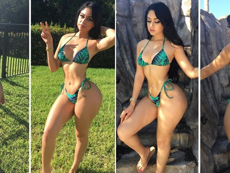 Jailyne's Hourglass-Shaped Body, Real or Fake?
