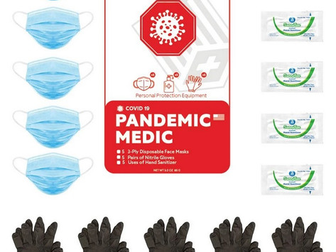 Pandemic First Aid. Simplified.
