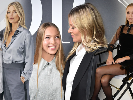 Lila Grace Moss-Hack is Following in Her Mother's [Kate Moss] Modeling Footsteps.