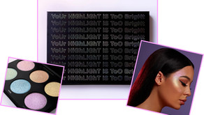 Highlighter Palette by Marylia Scott Cosmetics.