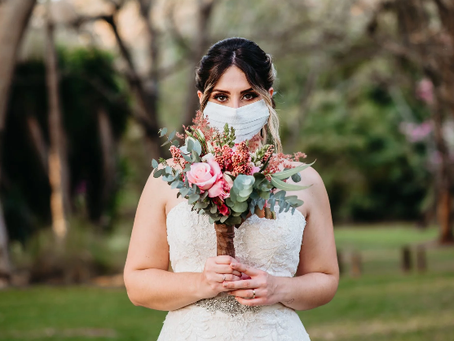 Bridal Face Masks Are Definitely a Thing.