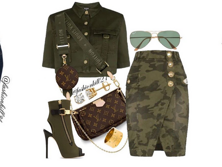 Mix Olive Green Into Your Outfits.