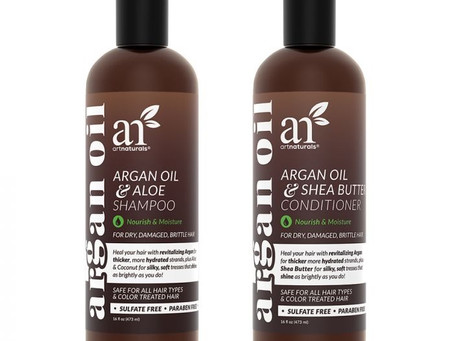 Healthy Hair, Naturally - Check Out Artnaturals' Hair Care.