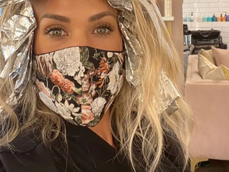 Carrie Underwood Gets Her Hair Done Since Coronavirus Pandemic.