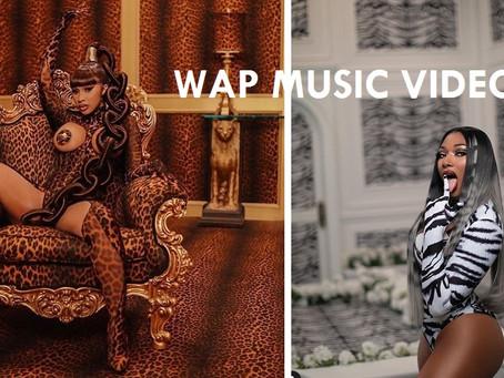 Cardi B and Megan Thee Stallion's 'WAP' Music Video.