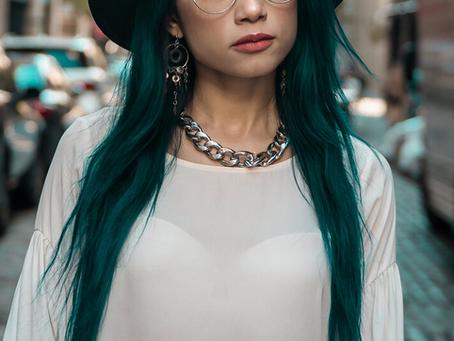 Lina Mayorga - Sustainable Vegan fashion Designer.