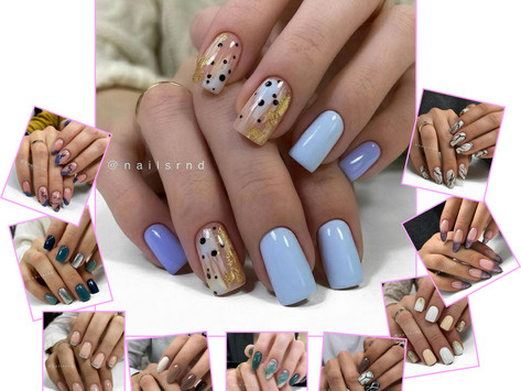Dress Up Your Nails With These Fashionable Nail Designs.