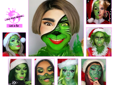 The Grinch is Here - Check out These Amazing Grinch-Inspired Makeup Looks.