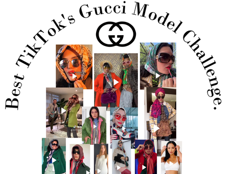 Best TikTok's Gucci Model Challenge.