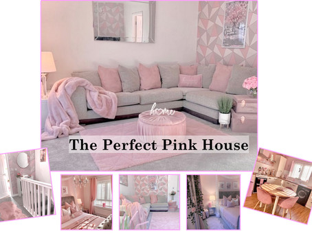 The 𝐏𝐞𝐫𝐟𝐞𝐜𝐭 𝐏𝐢𝐧𝐤 House - All Things Pink.