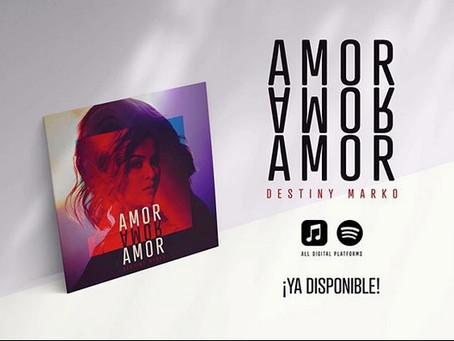 """""""Amor, Amor, Amor"""" is now available!"""