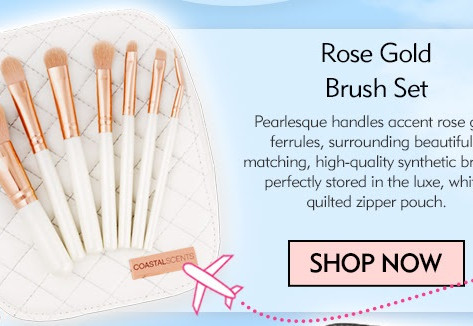 Travel Sized Favorites! Check Out These Travel Brush Sets.