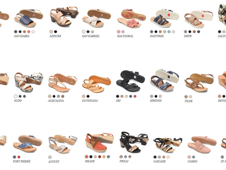 """Born"" Footwear & Handbags. Comfort Quality Materials."