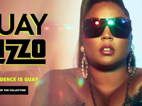 """QUAY X LIZZO """"Confidence is Quay"""" Eyewear Collection."""
