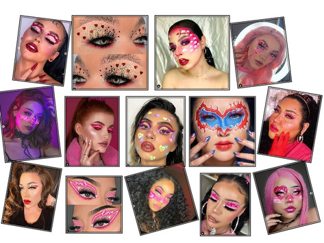 Top-14 Most Creative Valentine's Day Makeup Looks.