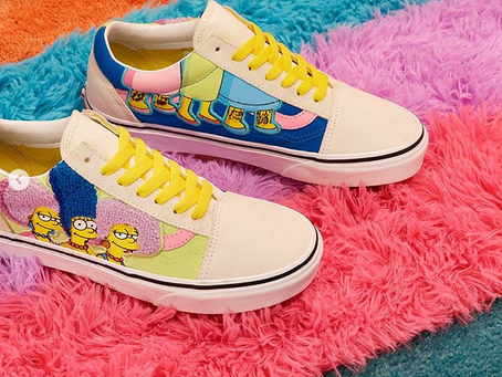 Check Out Vans' New Collaboration With The Simpsons.
