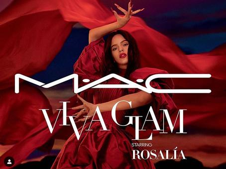 Rosalía is The Newest M.A.C VIVA GLAM Ambassador!