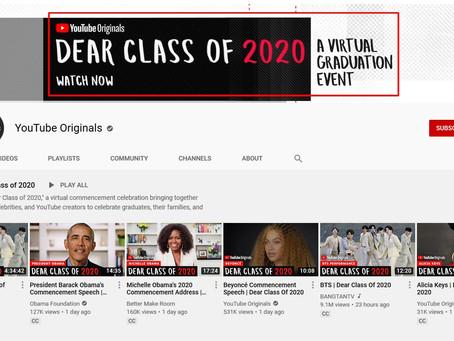 Watch 'Dear Class of 2020' All-Star Commencement...
