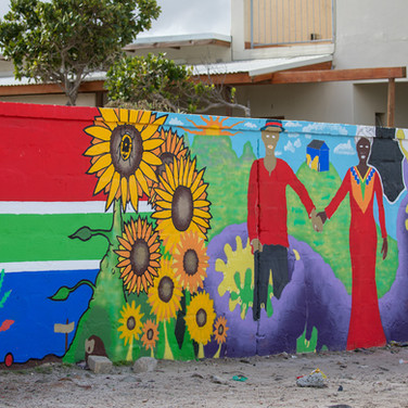 Wall Mural on vrygrond Avenue