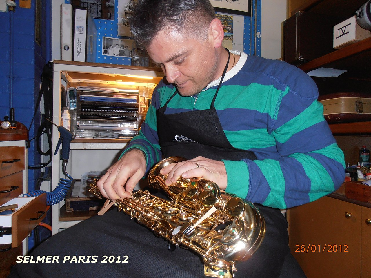 PARIZ SELMER 2012