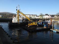 Monitoring of dredging works