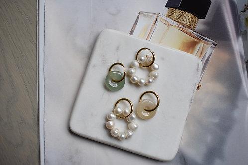 Nude Mini Earrings