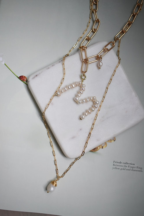 Personalized Double Necklace