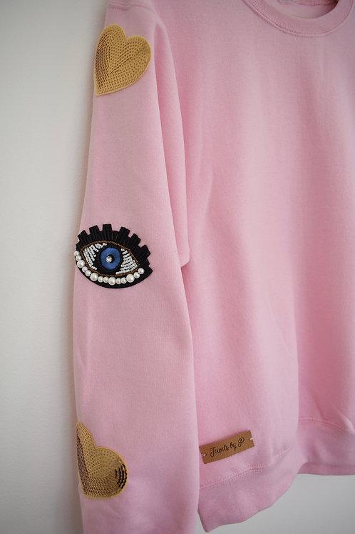 Pink Oversize Jumper