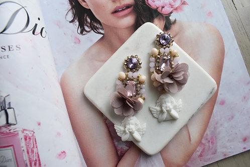 Angel Swarovski Earrings