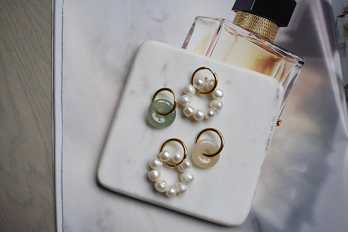 Light Green Mini Earrings