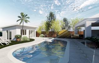 Pool Cabana Concept