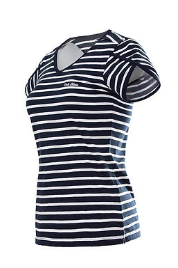 "Voile Bleue Damen T-Shirt gestreift ""Caitlin"""