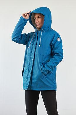"""Borneo"" Regenjacke in Blau"