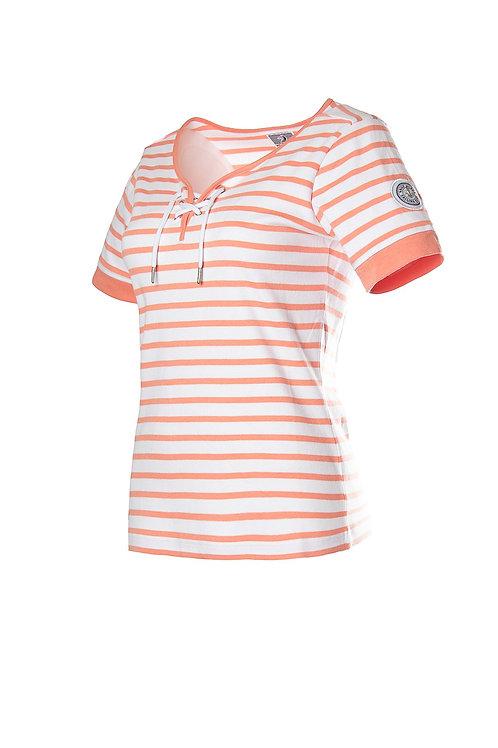 """Voile Bleue """"Celeste"""" Damen T-Shirt mit Streifen"""